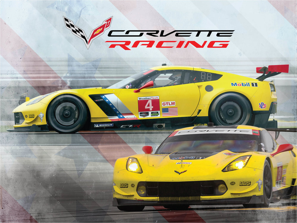Corvette Racing Hero Card