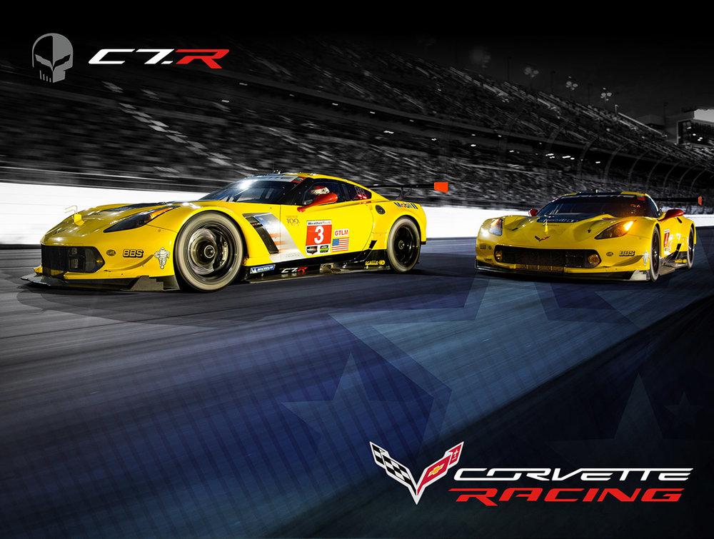 Corvette Racing Hero Card