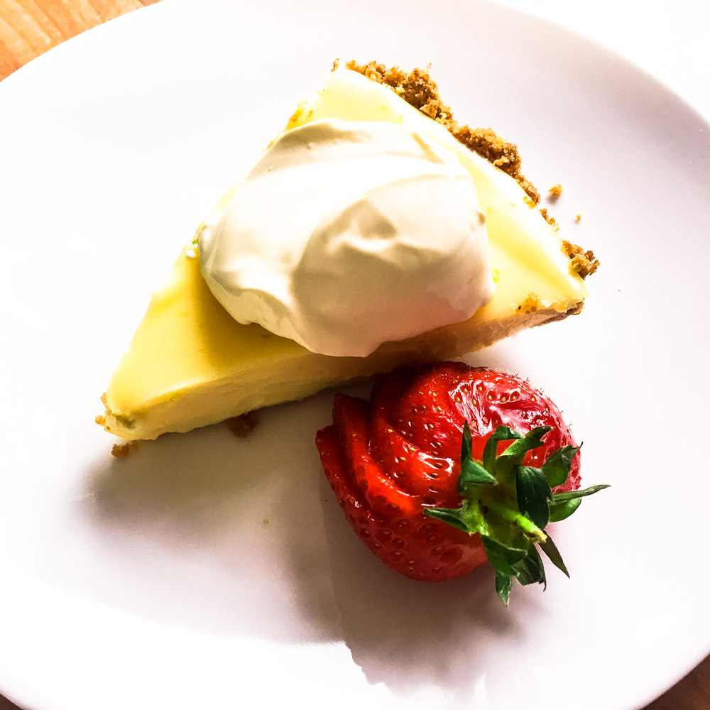 Keylime Pie - Need a delicious dessert for a warm day? This simple and delicious pie is perfect!