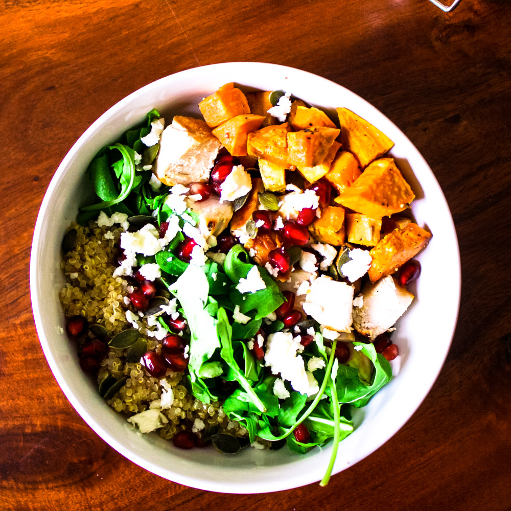 Chicken & Sweet Potato Power Bowl