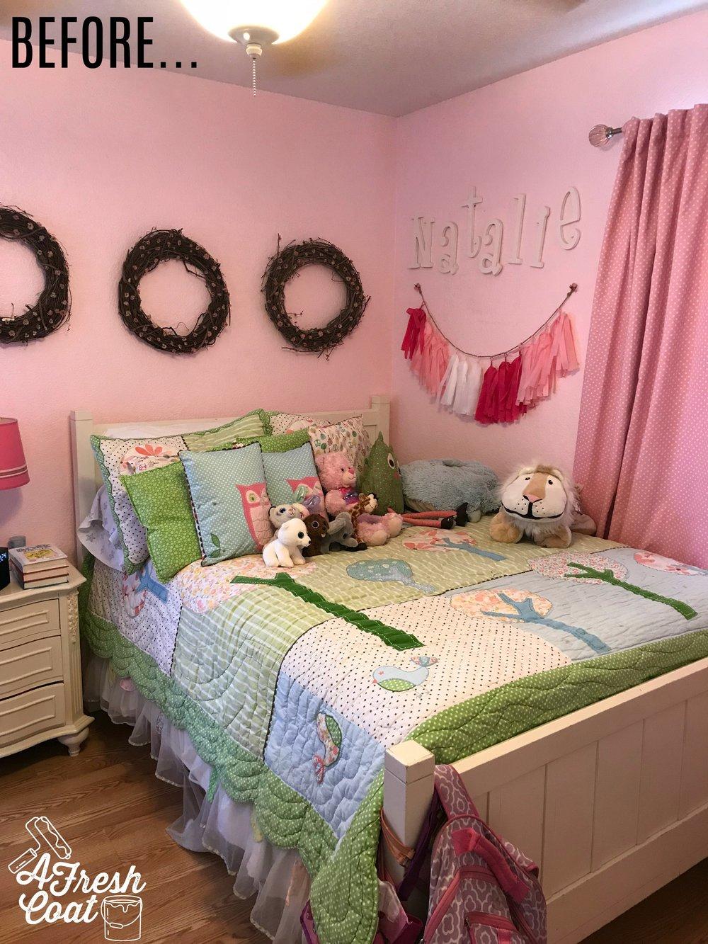 Tween Girl Room Makeover-A Fresh Coat Yuma 5.jpg & Bed of Roses: Tween Girl Room Makeover \u2014 A Fresh Coat
