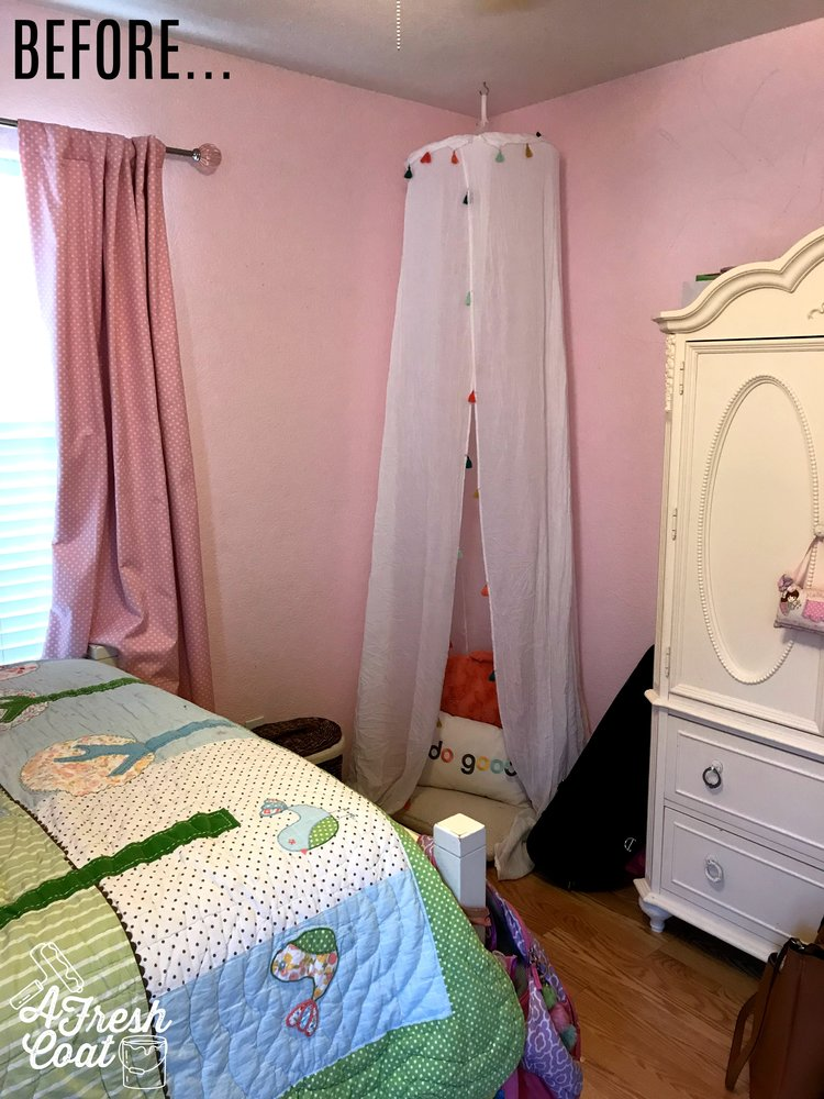 Bed of Roses: Tween Girl Room Makeover — A Fresh Coat