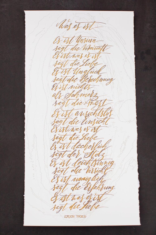 101 Living Liebesgedicht Papeterie