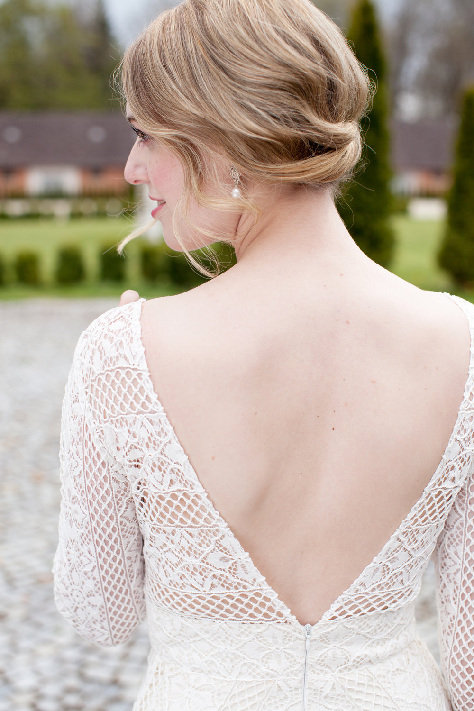 glamoröse Braut romantic bride