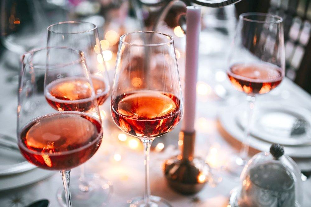 kaboompics_Rose wine glass on christmas table.jpg