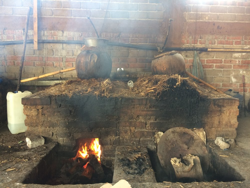Clay pot distillation