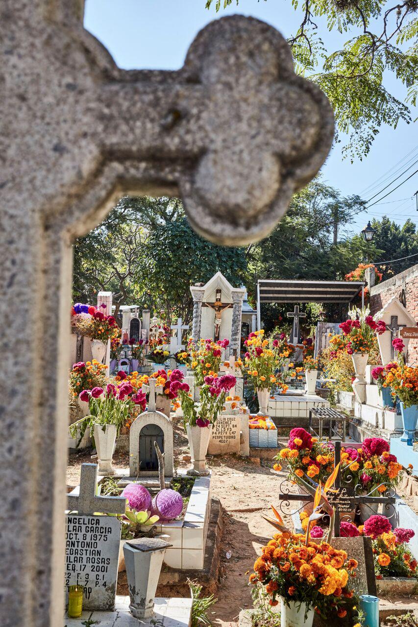 Miahuatlán graveyard
