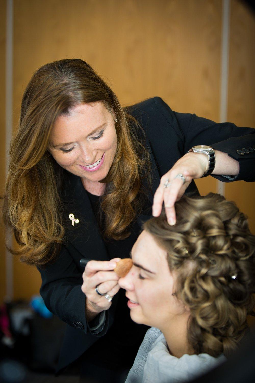 Catherine Bobby- Make up and hair artist