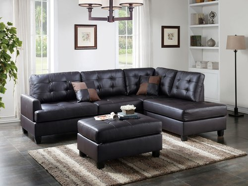 3pc Sectional Set Ottoman Included Item 6855u Decodesign