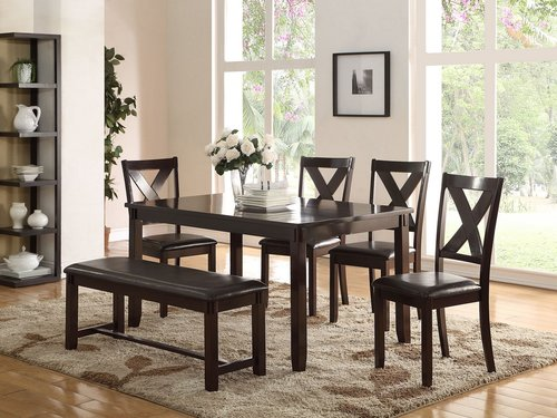6Pc Dining Set DecoDesign Furniture