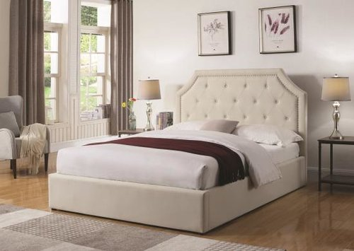 16fad20e2f49 Upholstered Bed/Hydraulic lift storage bed — DecoDesign Furniture ...