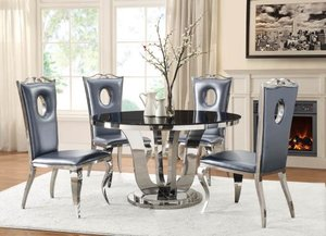 Dining Glam Bling Round Table