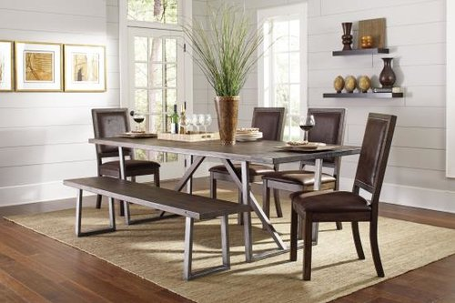 Industrial Style Dining Set Decodesign Furniture Furniture Store