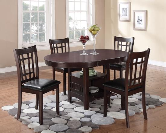 Transitional Dining Set