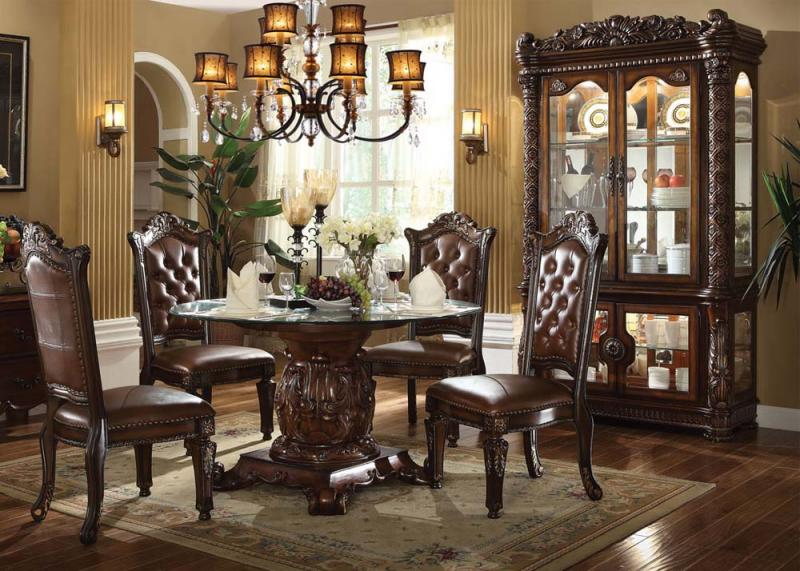 Vendome Traditional Dining Set ...