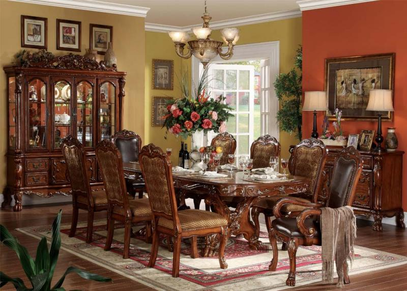 Dresden Collection Traditional Dining Set DecoDesign Furniture