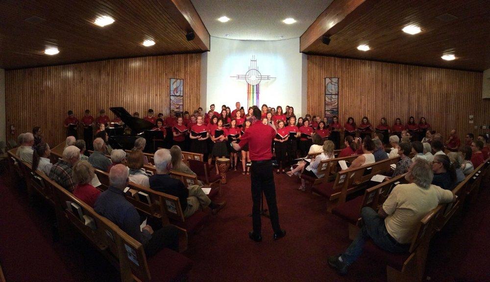 Choir visit
