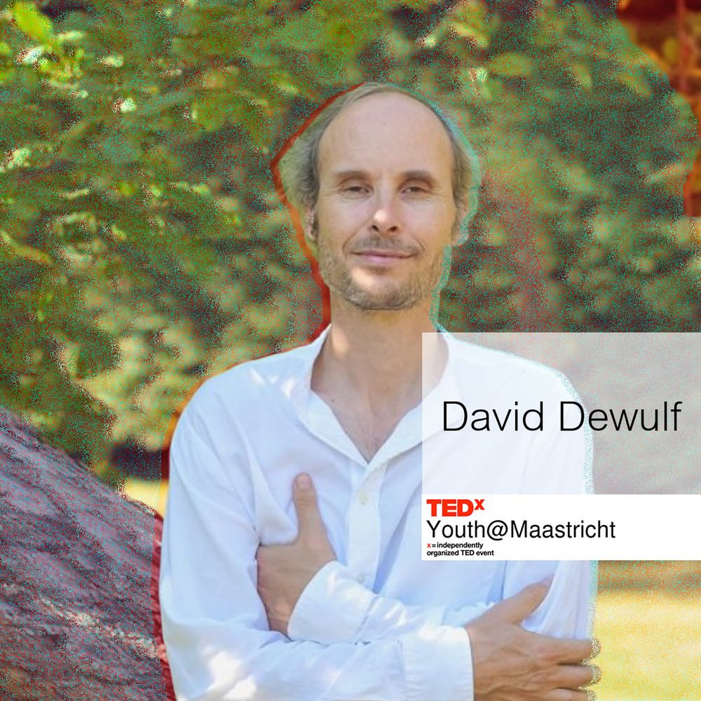 DAVID DEWULF - David Dewulf is a world traveling doctor. As a founder of of the Institute for Attention and Mindfulness, he offers training, amongst others to the European Parliament, and gives gives lectures all around Flanders and abroad. David was invited to the Harvard Postgraduate study Mind/Body Medicine and is the author of 15 eminent books about mindfulness.