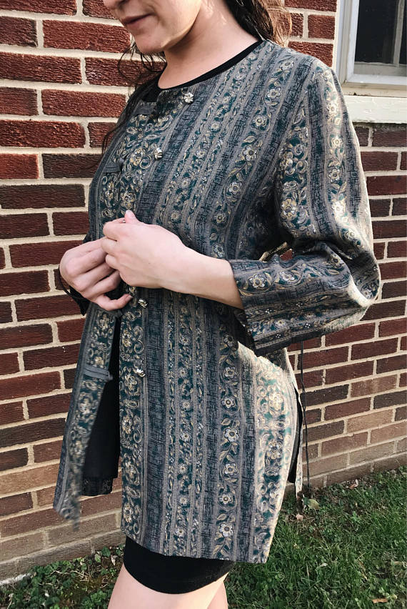 Patterned Jacket - size medium