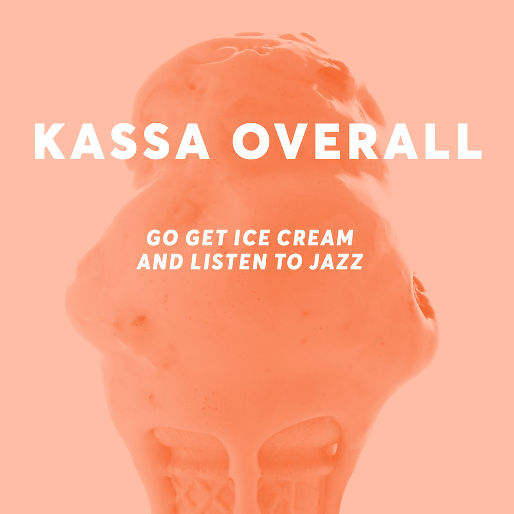 """- """"One of the few genuine-sounding, full-scope amalgams of contemporary hip-hop and jazz to surface in recent years."""" - Giovanni Russonello, NYTimes""""Such a nice surprise hearing this record."""" - Gilles Peterson""""My bro Kassa Overall's new album is 👍🏾"""" - Jon Batiste""""Go Get Ice Cream and Listen to Jazz, presents a startlingly cohesive array of compositions and production styles."""" - JAZZIZ"""