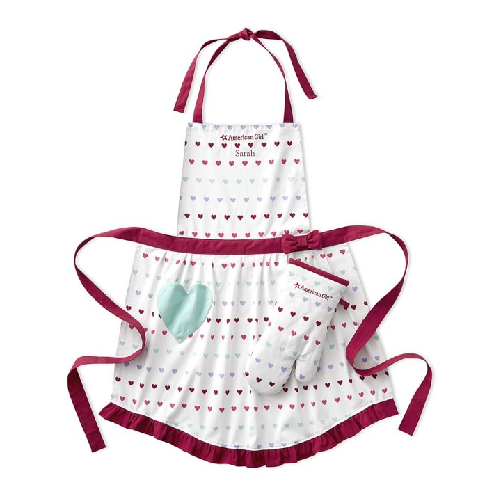 Delantal American Girl. US$19.99 en Williams Sonoma