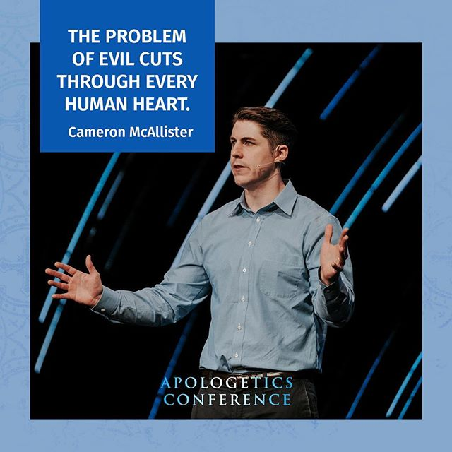 """The problem is that we are not human enough and the world is operating at a tragically shallow meaning of what it means to be a person."" Incredible wisdom on the problem of evil this morning from Cameron McAllister. Check out his entire talk on our live stream on our Facebook page!"