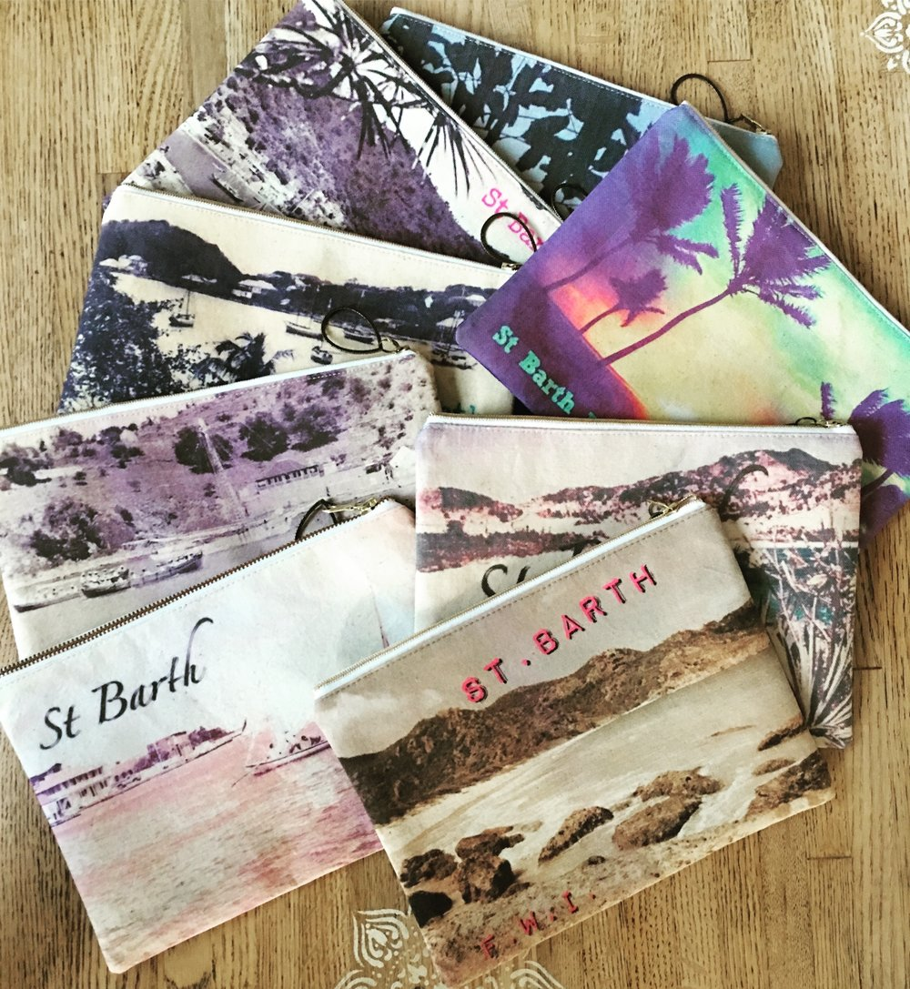 French Clutches St.Bart design collection