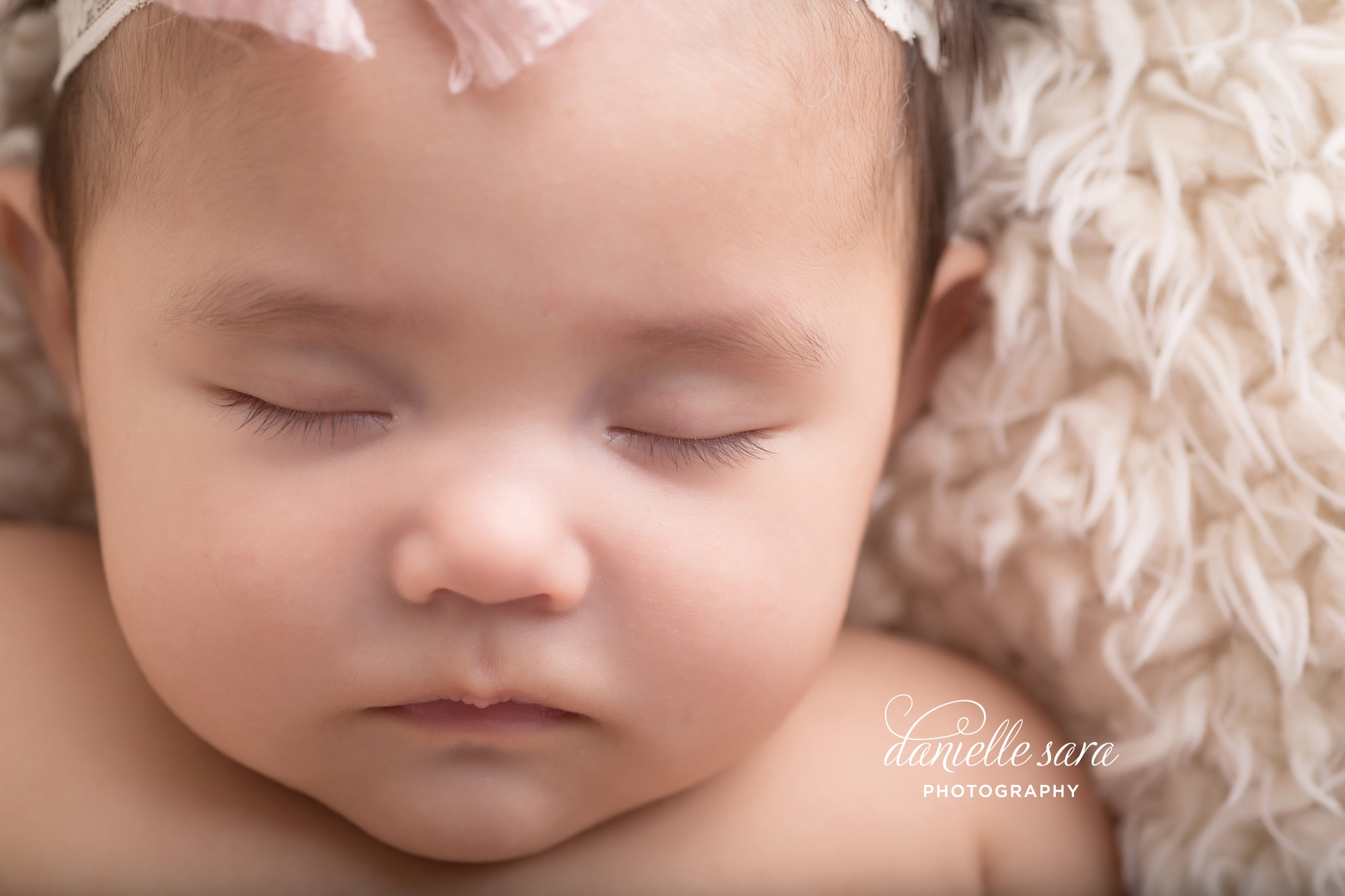 Sleeping baby portraits in rockville maryland