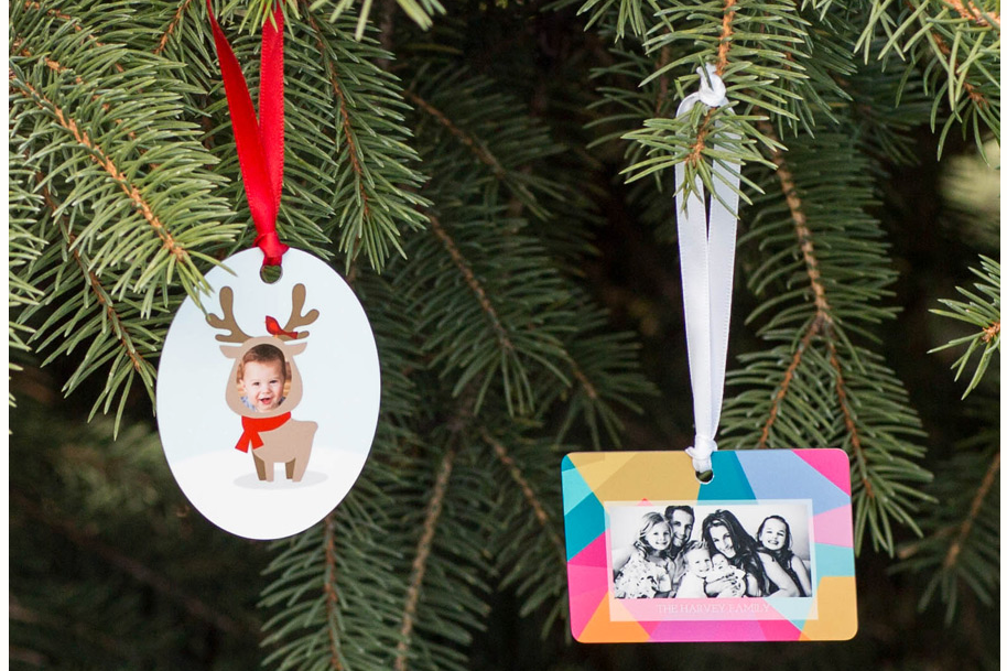 - Ornaments: Create a unique personal gift that they'll want to display long after the tree comes down. Ornaments are an excellent choice for personalized gift tags, name tags, and, of course, hanging on a tree! Available in a acrylic, wood, or bamboo with a wide selection of shapes. Ornaments are a wonderful way to commemorate special events from the year.