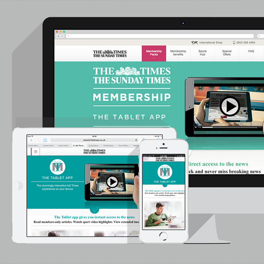 The Times Membership Hub