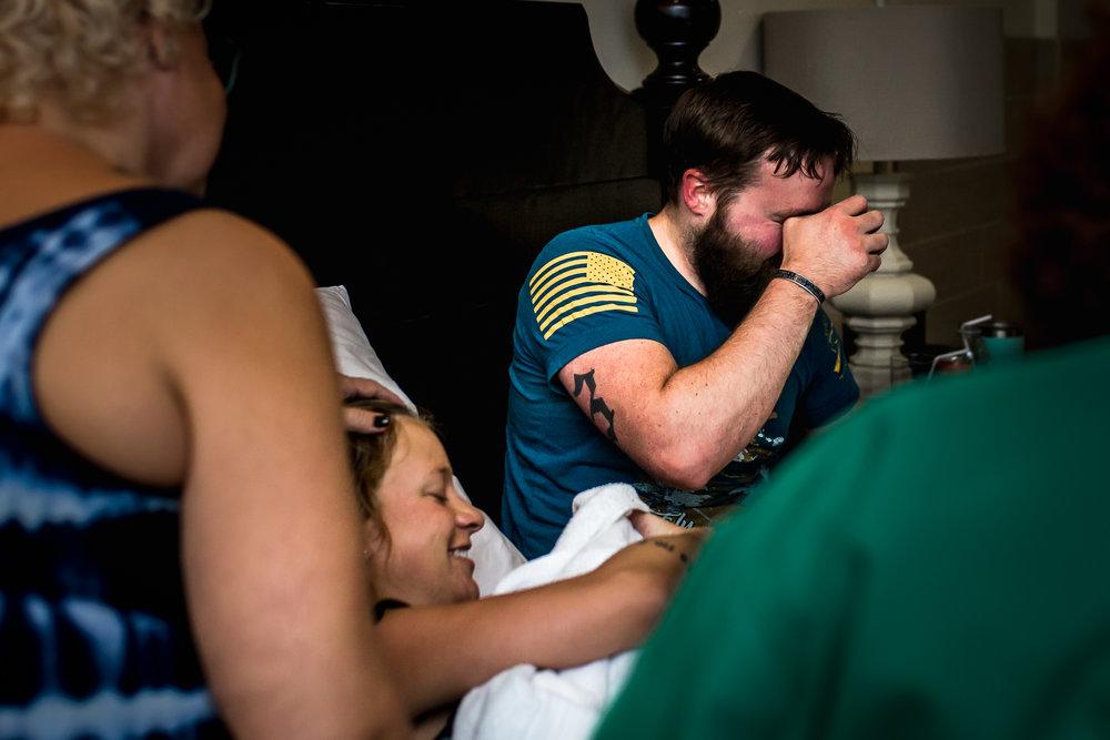 Greenville Birth Photography