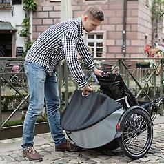 120l Roller-Rack gepäcktaschensystem am Kettwiesel
