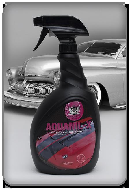 AquanilX Waterless Car Wash Wax RDU Croftgate - Show car wash and wax