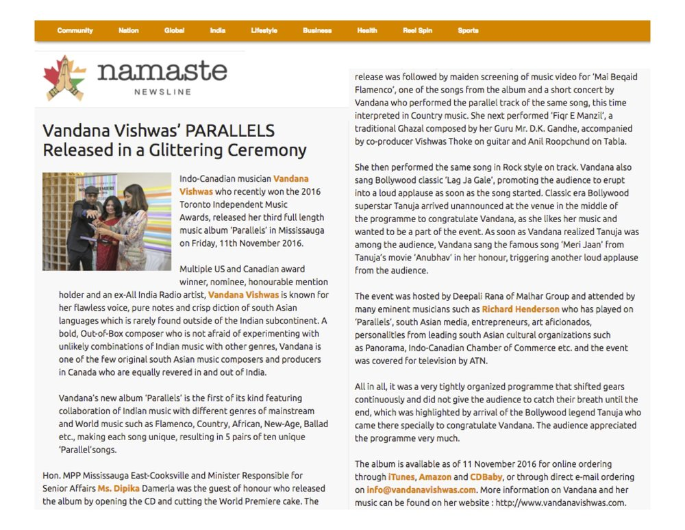 Namaste Newsline Parallels Release Article copy.jpg