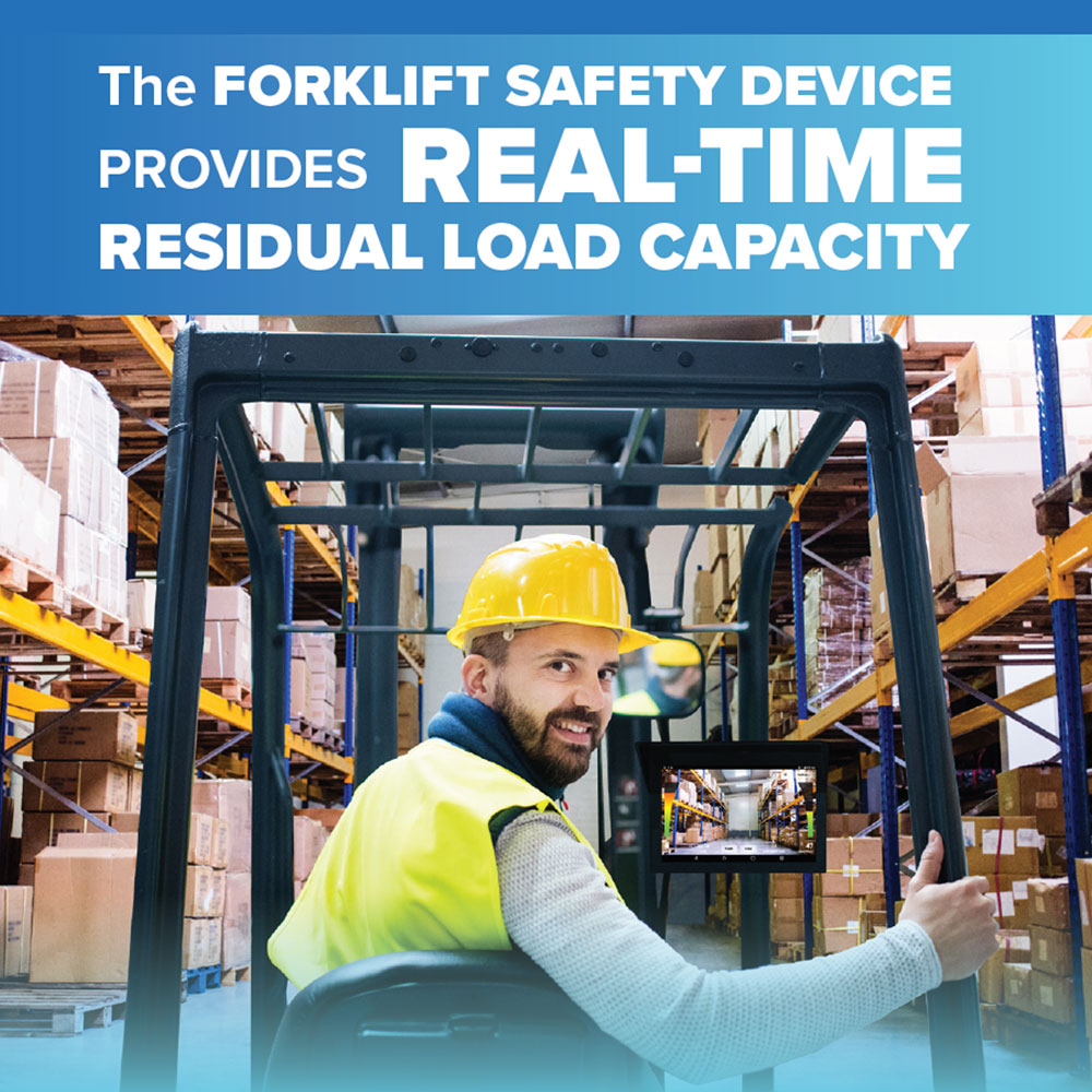"""OE Attachments Launches the Forklift Safety Device - """"Going by the numbers, our industry is long overdue for a product like this,"""" Terry Melvin, CEO of OE Attachments said. The numbers he refers to are the statistics regarding forklift accidents and workplace safety. Per OSHA's data, forklifts are responsible for one out of every six workplace accidents.70% of those accidents are caused by human error that could have been avoided, such as incorrectly estimating the forklift's load center or taking on a load that's way over capacity, which can result in tipping. 67% of fatal accidents are due to vehicle tipping or being crushed between the forklift and the ground surface."""