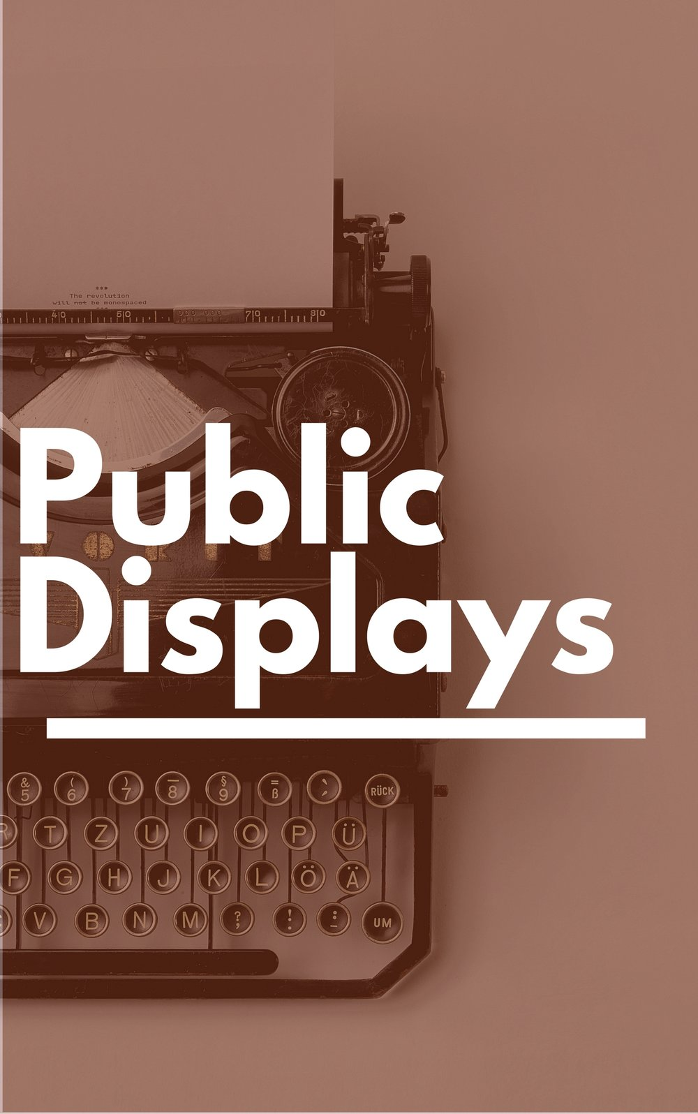 Public Displays - Glen Rock Public Library - NJ