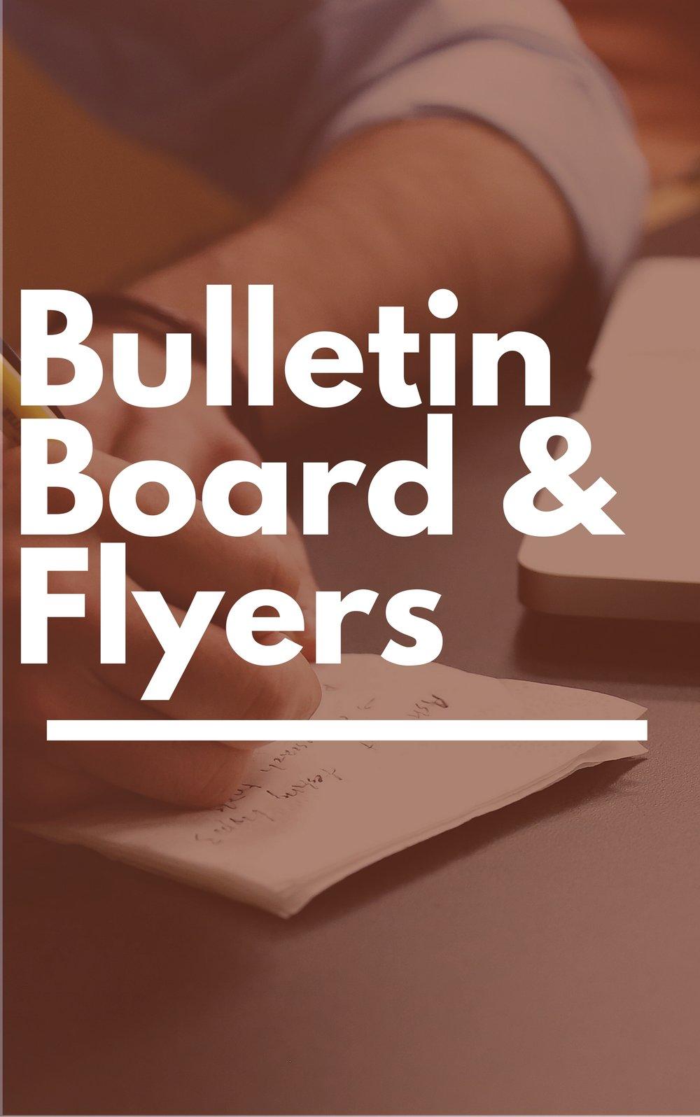 Bulletin Board and Flyers - Glen Rock Public Library - NJ