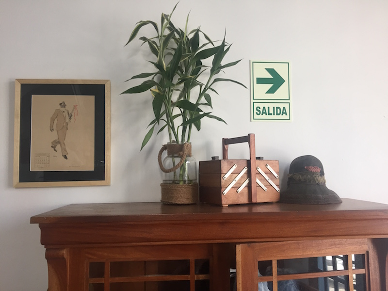 Office details. Always endless inspiration in Peru.