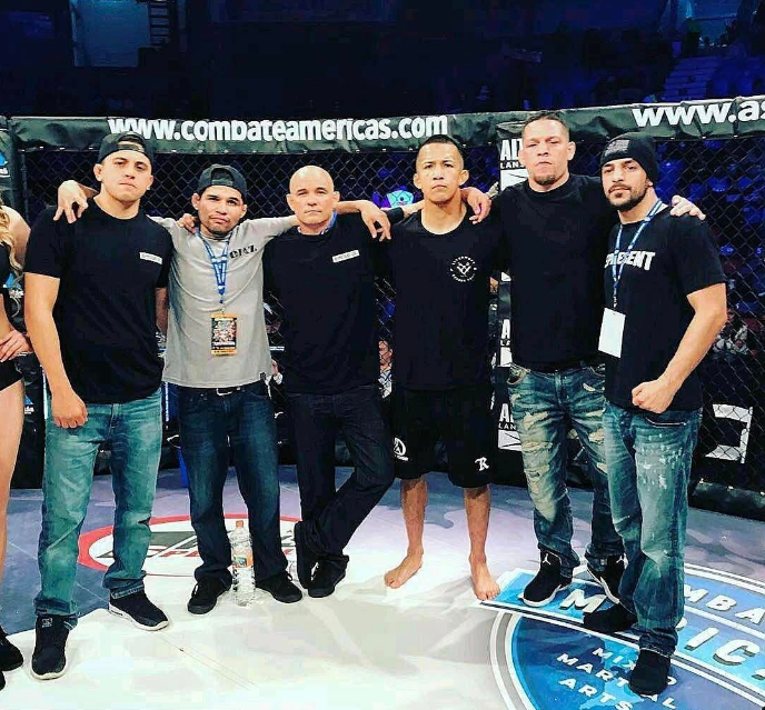 Jose Aguayo, MMA: Combate Americas Card   We proudly support Jose Aguayo's amazing journey.