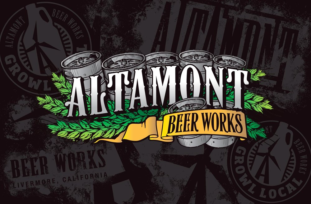 "Altamont beer works  ""Livermore's First Craft Brewery Since Prohibition."""