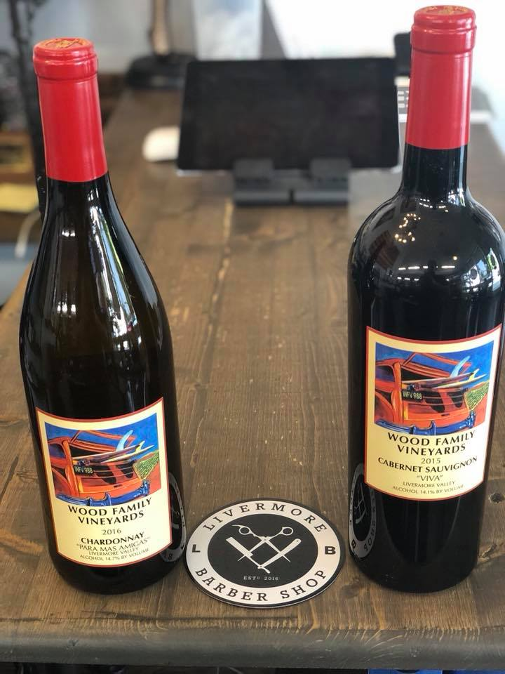 "WOOD FAMILY VINEYARDS  ""...strong commitment to each other and to the celebration of life, family, and friends. This same commitment carries over into making luscious handcrafted wines."""