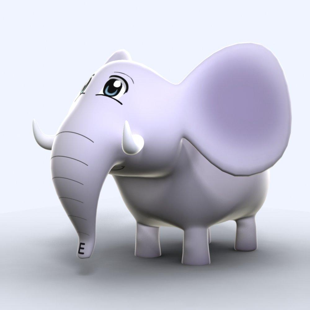 First draft of Spanish Safari's Esteban el Elefante. #learnsafari #spanishsafari
