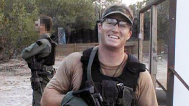 Glen Doherty smiles at the camera in a photograph provided by the Doherty family.
