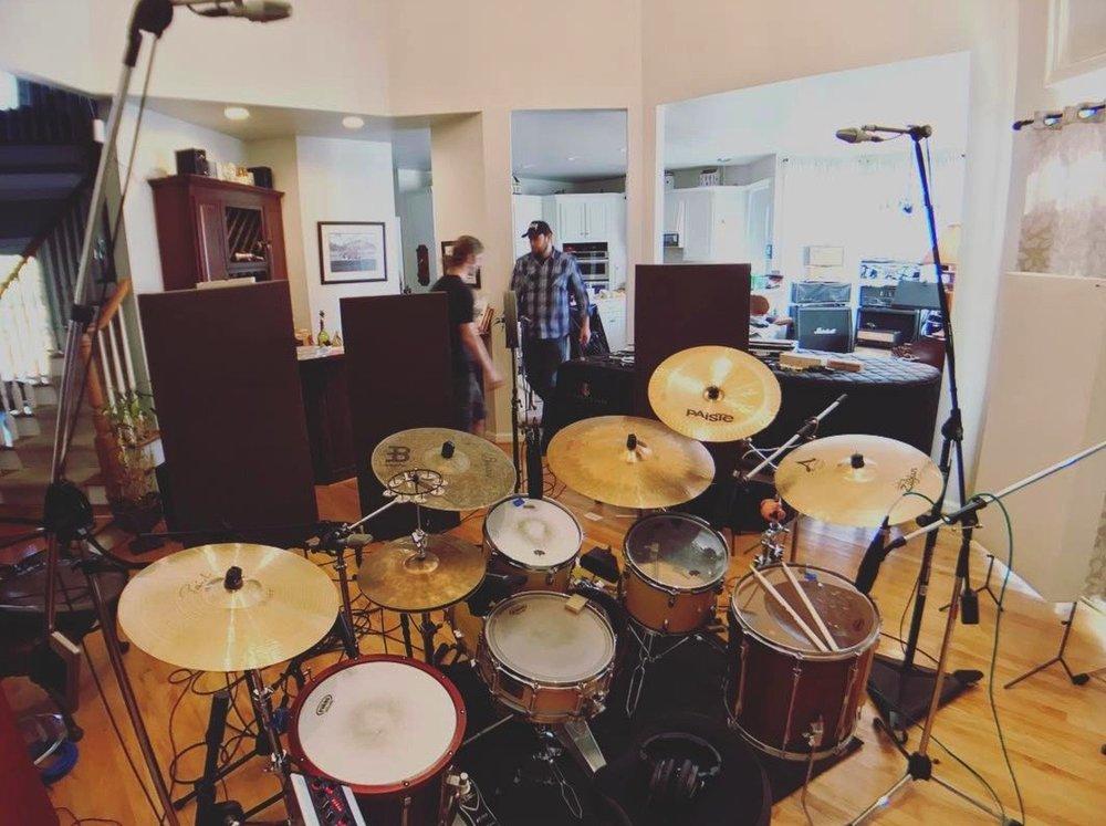 Drums - DW performance 24x18, 16, 12 14