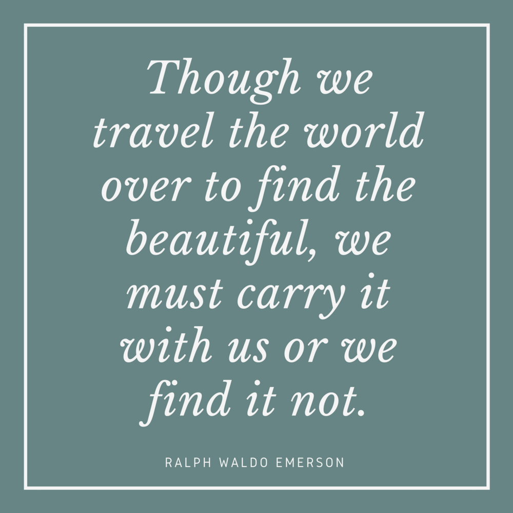 Ralph Waldo Emerson on Beauty