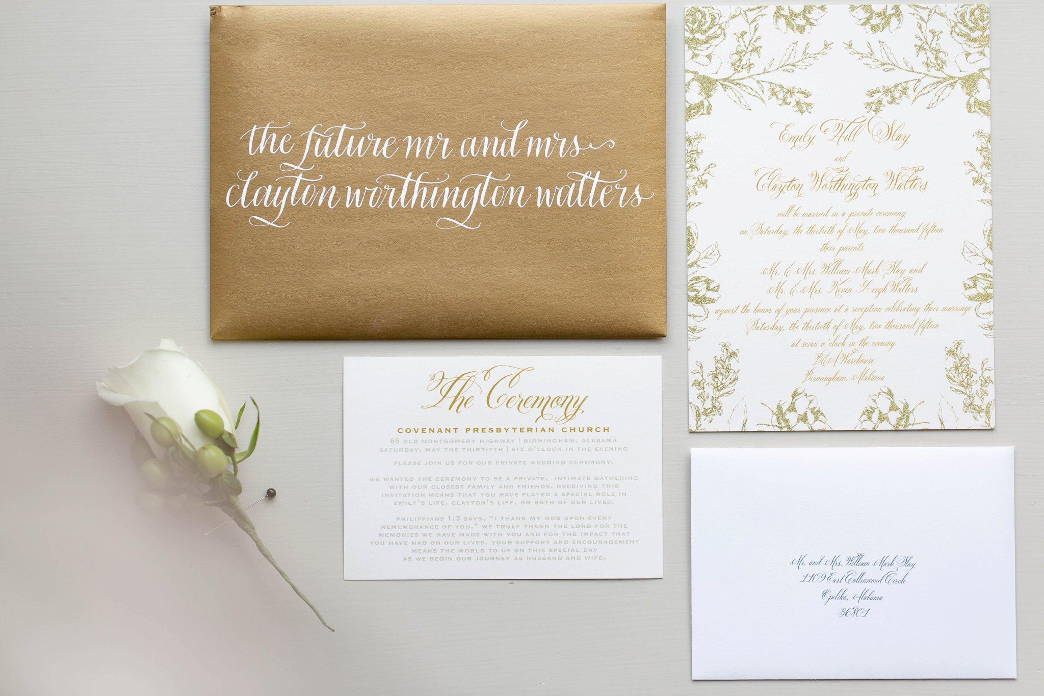 Emily & Clayton - Alabama Wedding — 205 Photography