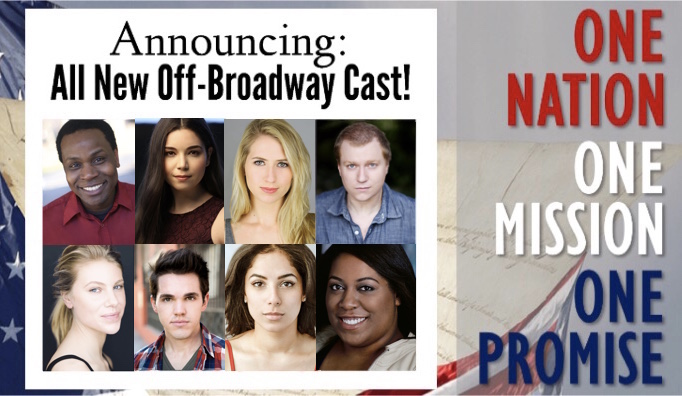 Kelsey is excited to announce she will be joining the cast of One Nation, One Mission, One Promise based on the book by Victoria Medina for its Off-Broadway run in 2018!