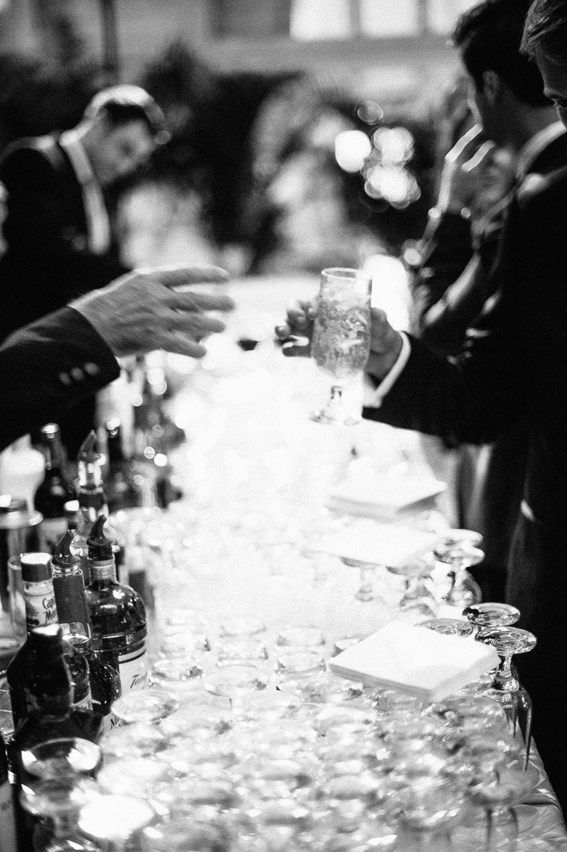 - Cocktails - If you're leaning towards a first look, you'll be able to transition from ceremony to cocktail hour a bit more smoothly.