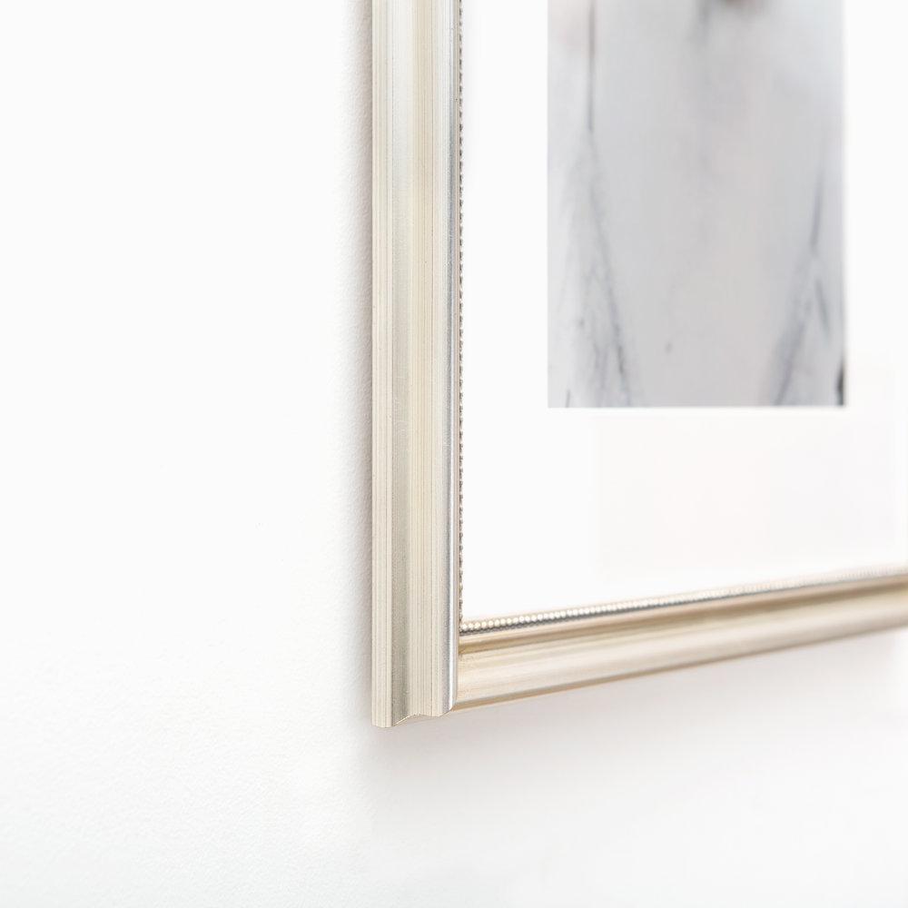 Buckhead // Silver Beaded Frame