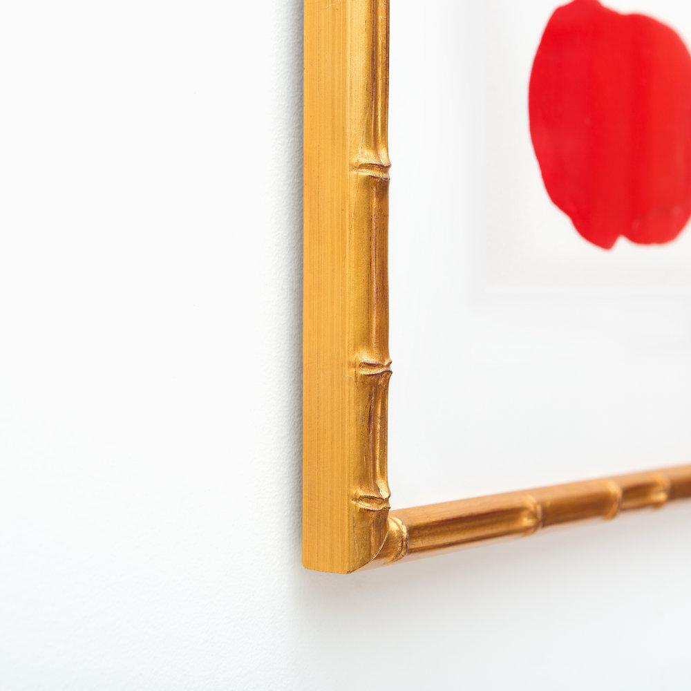 Mandalay // Gold Bamboo Frame